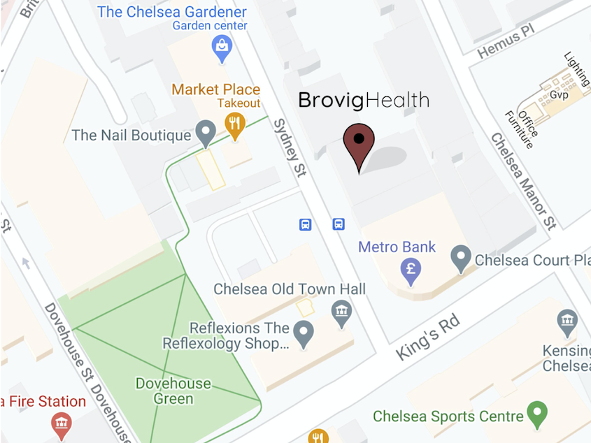Brovig Health, 102 Sydney Street, London SW3 6NR